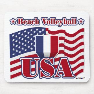 Beach Volleyball USA Mousepad