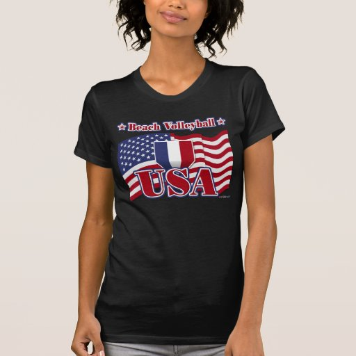 Beach Volleyball USA Tshirt