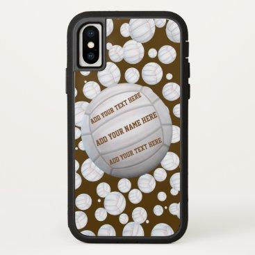 Beach Themed Beach Volleyballs iPhone X Case