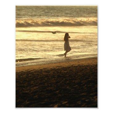 Beach Themed Beach Walk 8x10 Photo Print