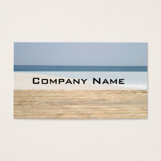 Beach Walk Business Card