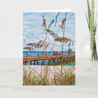 Beach Walk Card