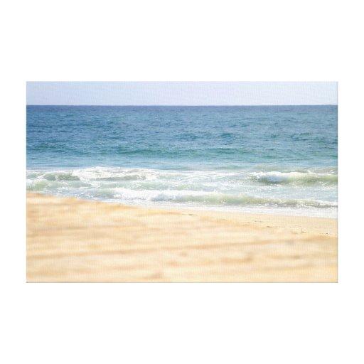 Beach Walk Gallery Wrap Canvas