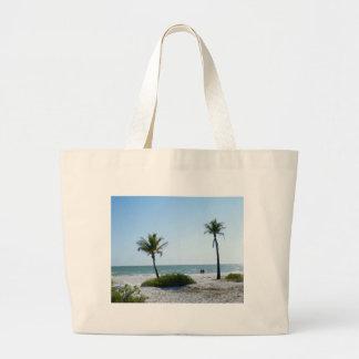 Beach Walk Large Tote Bag