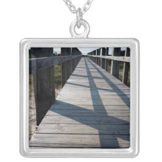 Beach Walk Silver Plated Necklace
