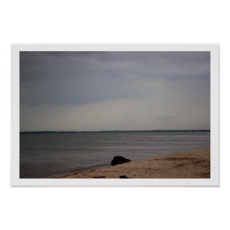 Beach Waterscape Photo Poster