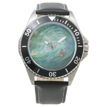Beach Themed beach wave wrist watch