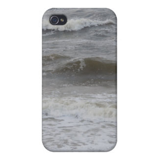 Beach Waves and Foam Case For iPhone 4