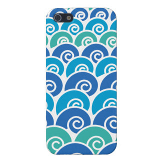 Beach Waves Blue Cover For iPhone SE/5/5s