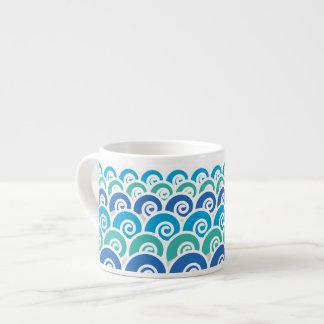 Beach Waves Espresso Cup