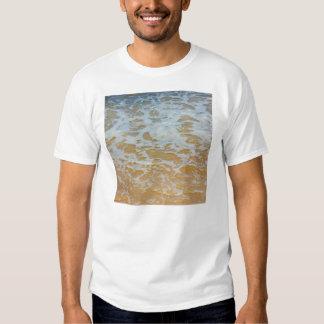 Beach Waves Foam, Nature Photography Tee Shirt