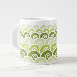 Beach Waves Giant Coffee Mug