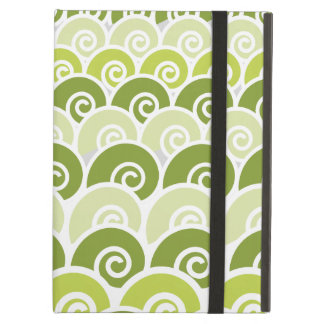 Beach Waves Green iPad Air Case