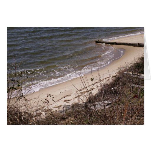 Beach Waves Greeting Card