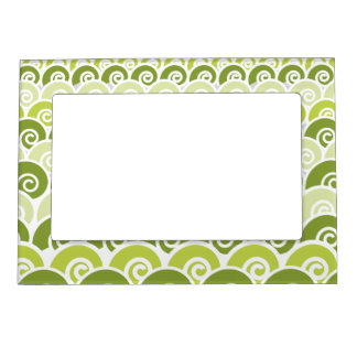 Beach Waves Magnetic Photo Frame