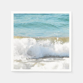 Beach Waves Paper Napkin