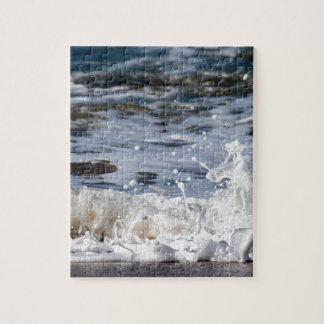 BEACH WAVES QUEENSLAND AUSTRALIA JIGSAW PUZZLE