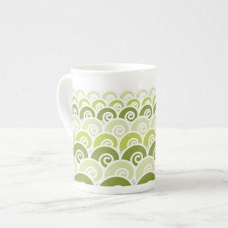 Beach Waves Tea Cup