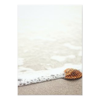 Beach Waves Wedding Invitation