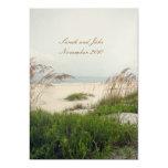 "Beach Wedding 5"" X 7"" Invitation Card"