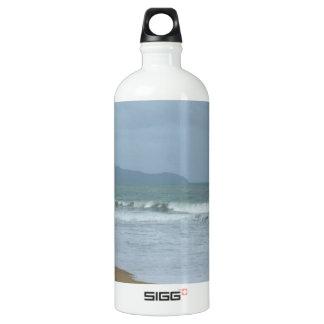 Beach Wedding Aluminum Water Bottle
