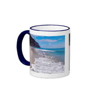 Beach Wedding Backdrop Coffee Mugs