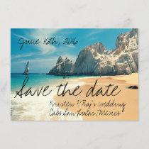 Beach Wedding Cabo San Lucas, Mexico Save the Date