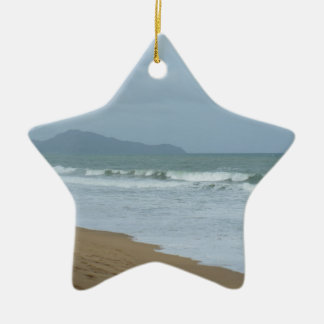 Beach Wedding Ceramic Ornament