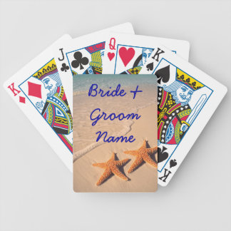 Beach Wedding deck of Playing Cards Favors