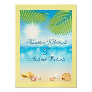Beach Wedding /  Event - SRF Card
