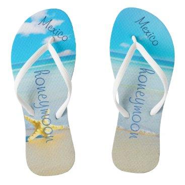 Beach Themed Beach Wedding | Flip Flops | Bride Name | Ocean