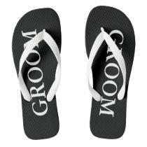 Beach Wedding Flip Flops for Bride and Groom