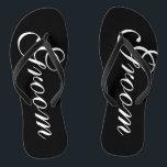 e63240f51 Beach wedding flip flops for groom and bride br  div class