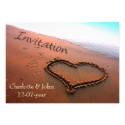 beach wedding invites by mgdezigns