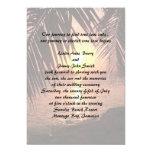 "Beach Wedding Invitation 5"" X 7"" Invitation Card"