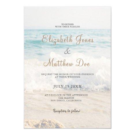 Seaside/Oceanside Wedding