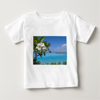 Beach Wedding Ocean Tahiti Flowers Baby T-Shirt
