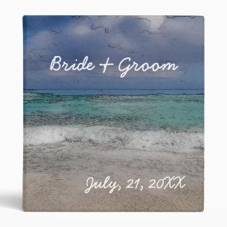 Beach Wedding Picture Album Binder