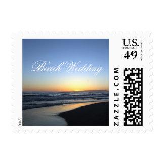 Beach Wedding Postage