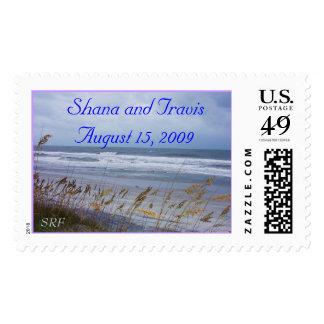 Beach Wedding Postage - Customize