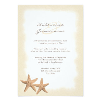 beach wedding reception only invitations - Wedding Reception Only Invitations
