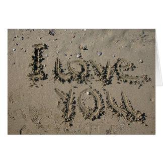 Beach Wedding Sand Cards