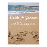 Beach Wedding - Save the Date! Custom Invite