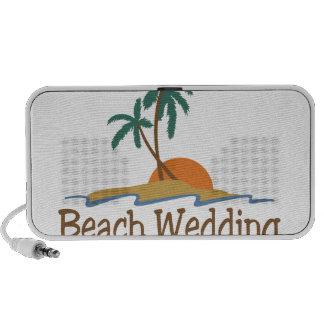 Beach Wedding Mini Speakers