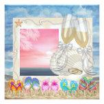 Beach Wedding - SRF Invitations