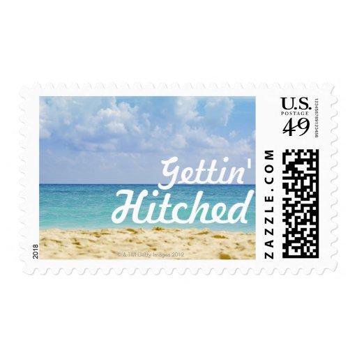 Beach Wedding Stamps
