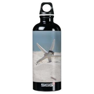 Beach Wedding Starfish Aluminum Water Bottle