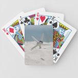 Beach Wedding Starfish Bicycle Playing Cards