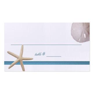 Beach Wedding Starfish Seating Card