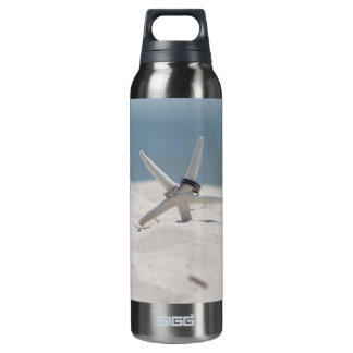 Beach Wedding Starfish 16 Oz Insulated SIGG Thermos Water Bottle